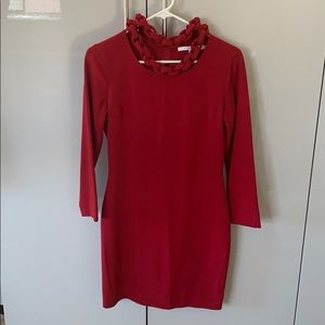Diane von Furstenbetg red dress